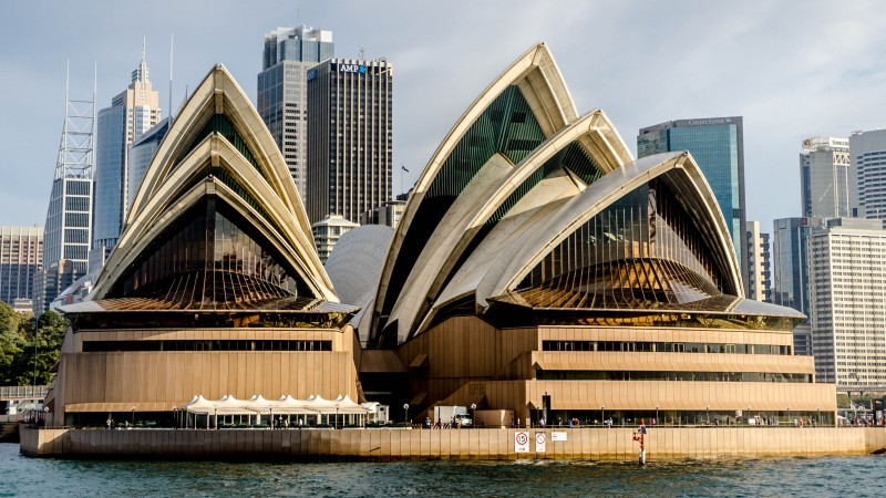 Sydney, Australia, The Sydney Opera House, sea, ocean, water, travel, booking, vacation, city (horizontal)