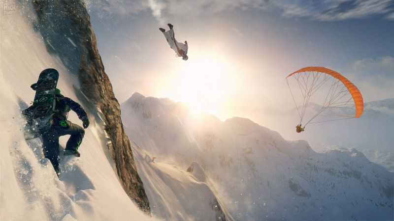 Steep, extreme, E3 2016, best games, PlayStation 4, Xbox One, Windows, Best Games (horizontal)