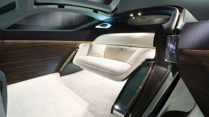 Rolls-Royce Vision Next 100, future cars, futurism, interior (horizontal)