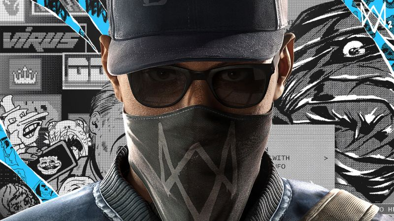 Watch Dogs 2, PC, PlayStation 3, PlayStation 4, Xbox 360, Xbox One (horizontal)