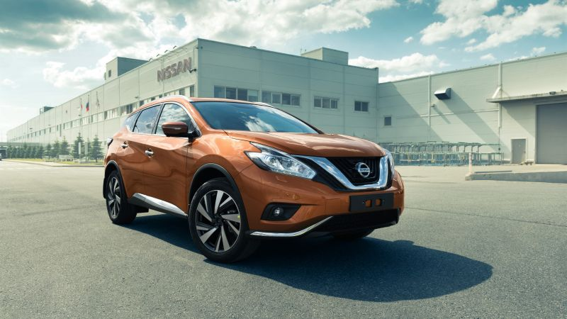 Nissan Murano, crossover, orange (horizontal)