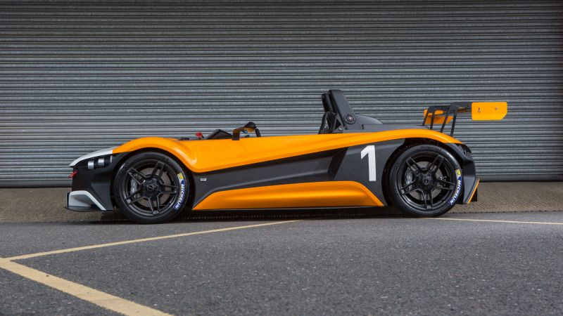 VŪHL 05RR, supercar, orange, Goodwood Festival of Speed 2016 (horizontal)