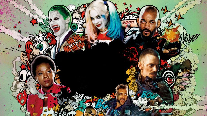 Suicide Squad, Best Movies of 2016 (horizontal)