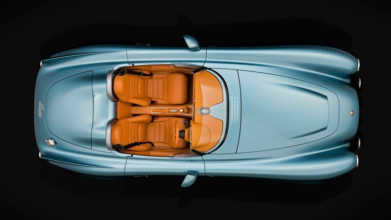 Bristol Bullet, speedster, roadster, supercar, interior (horizontal)