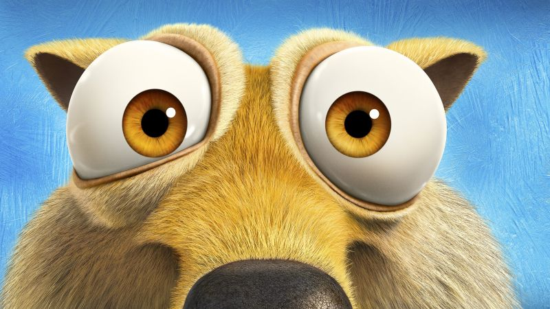 Ice Age 5: Collision Course, scrat, squirrel, best animations of 2016 (horizontal)
