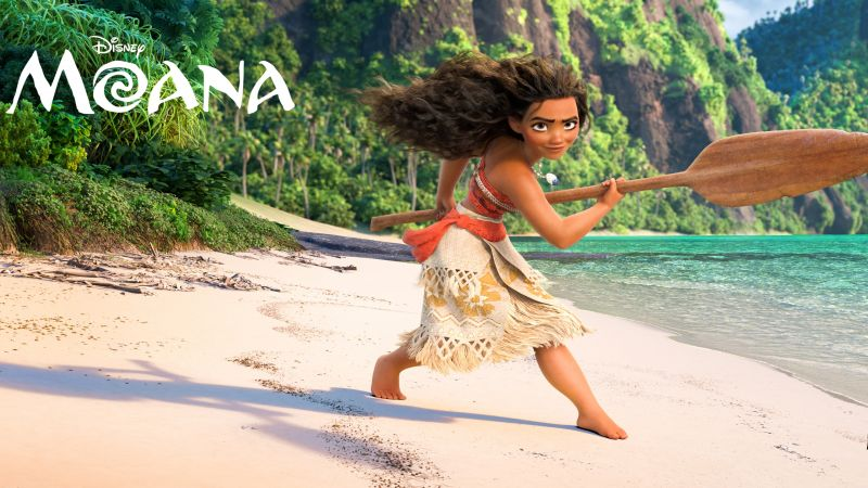 Moana, best animation movies of 2016 (horizontal)
