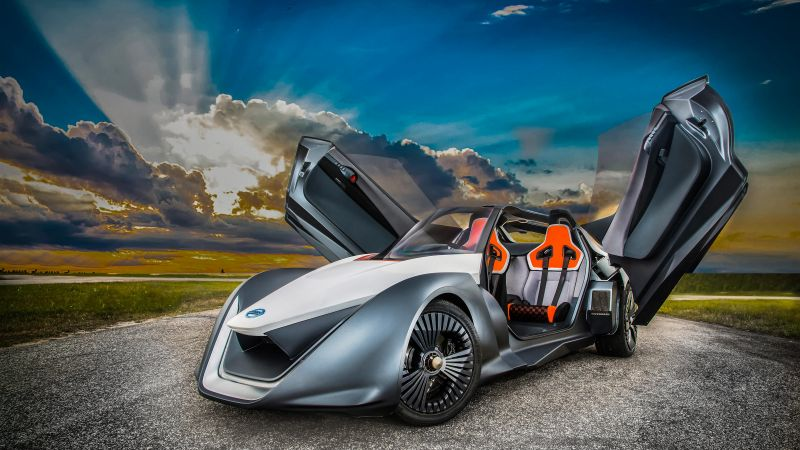 Nissan BladeGlider, supercar, electric cars, electric (horizontal)