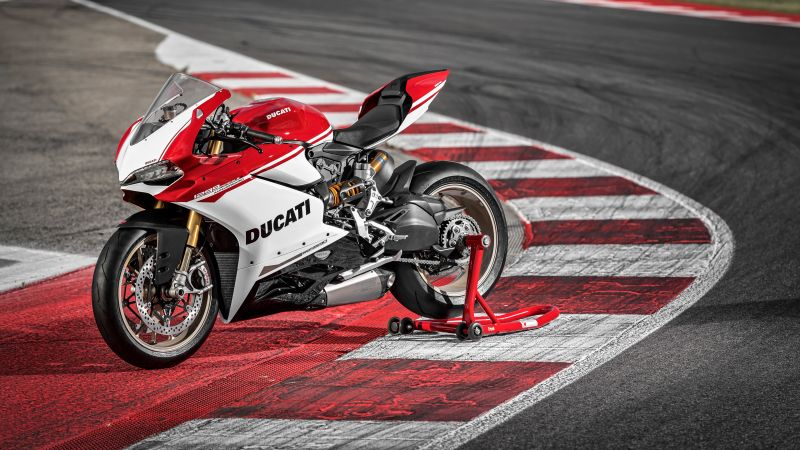 Ducati 1299 Panigale S, speedbike, superbike, red, best bikes (horizontal)