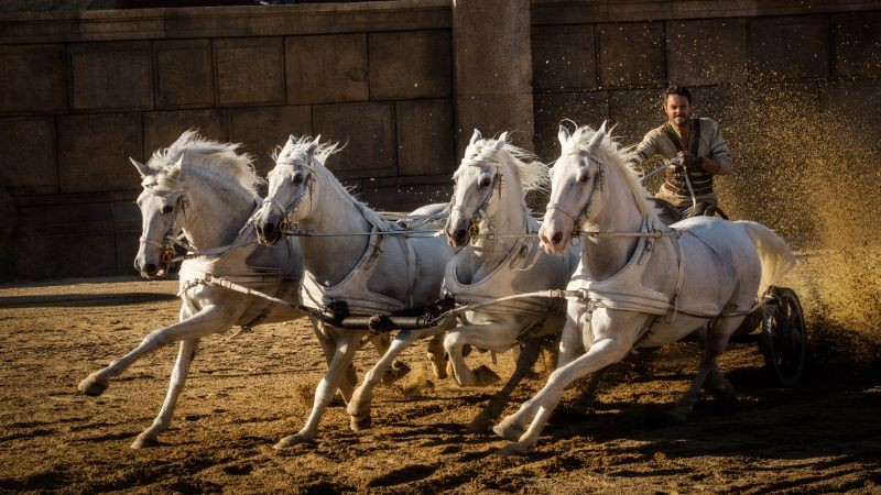 Ben-Hur, Jack Huston, horses, best movies of 2016 (horizontal)