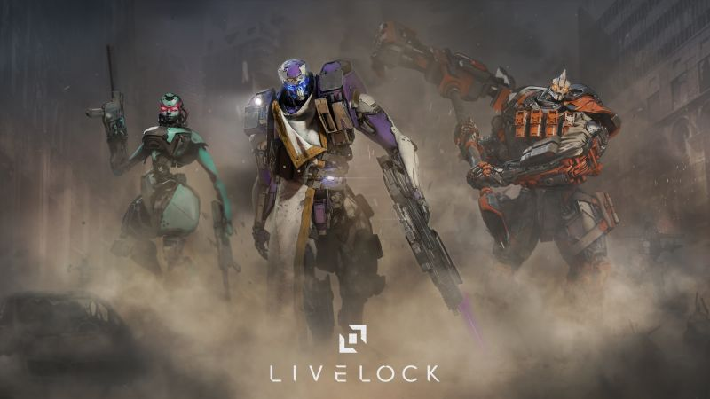 Livelock, giant, shooter, best games (horizontal)