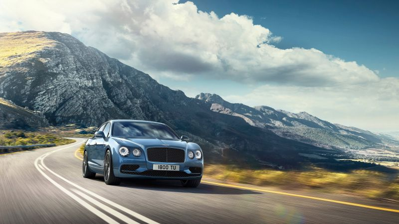 BENTLEY FLYING SPUR W12 S, paris auto show 2016, luxury cars (horizontal)