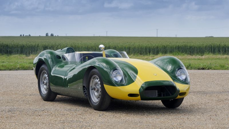 Lister Knobbly Stirling Moss Edition, sport car, supercar (horizontal)