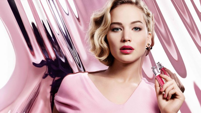 Jennifer Lawrence, dior addict, Most popular celebs, actress (horizontal)
