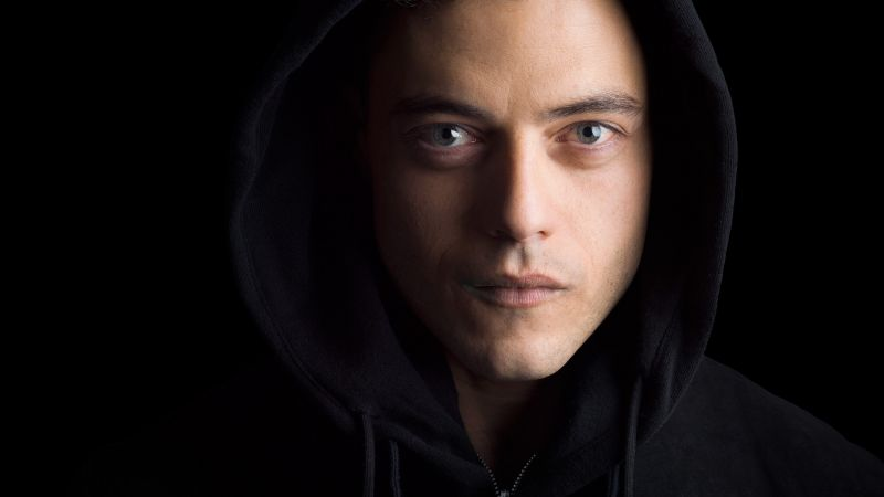 Mr. Robot 2 season, elliot alderson, Rami Malek, best TV series (horizontal)