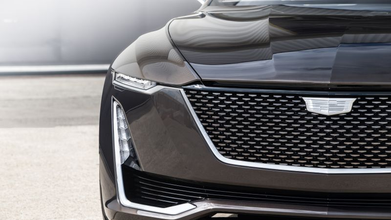 Cadillac Escala, black, sedan, luxury cars (horizontal)