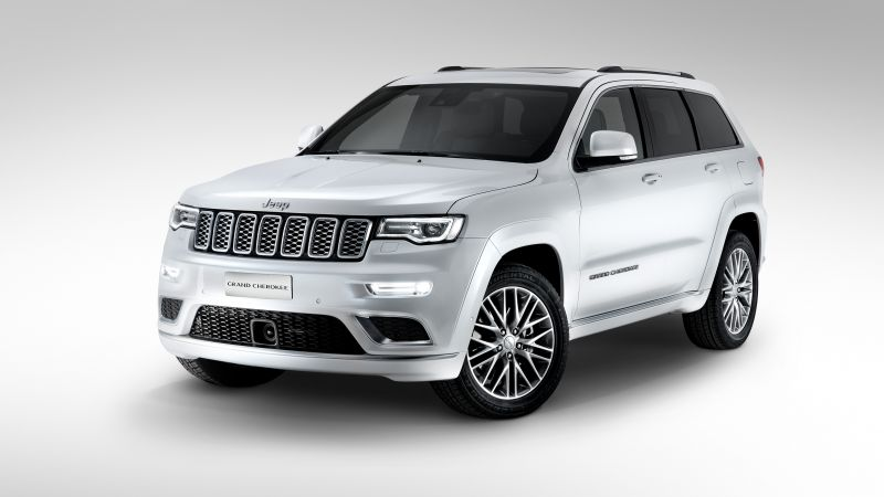 Jeep grand cherokee Summit, paris auto show 2016, moparone, white (horizontal)