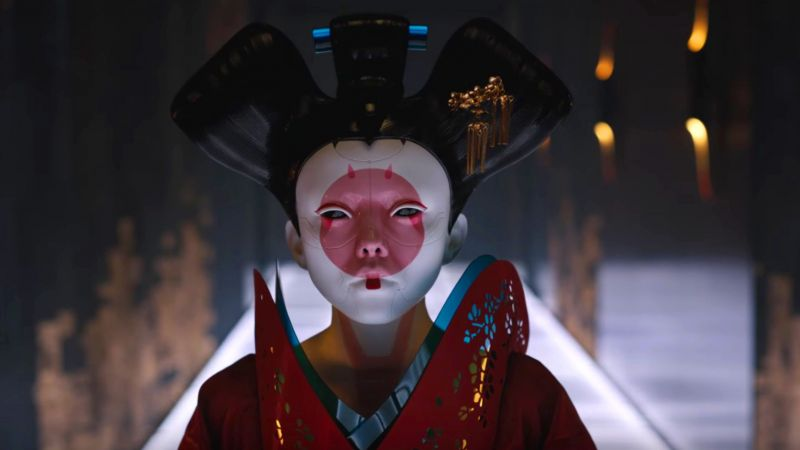 Ghost in the Shell, geisha, best movies (horizontal)