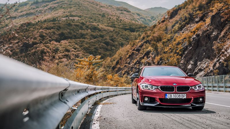 Bmw 440i, red edition, coupe (horizontal)