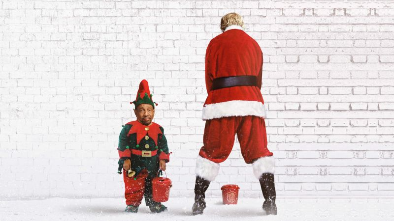 Bad Santa 2, santa, christmas, Billy Bob Thornton, Tony Cox (horizontal)