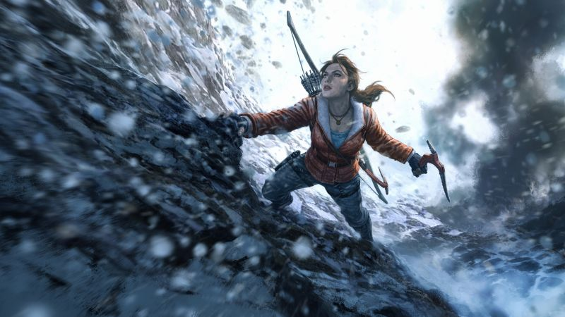Rise of the Tomb Raider 20 Year Celebration Edition, Lara Croft, Best Games, PC (horizontal)