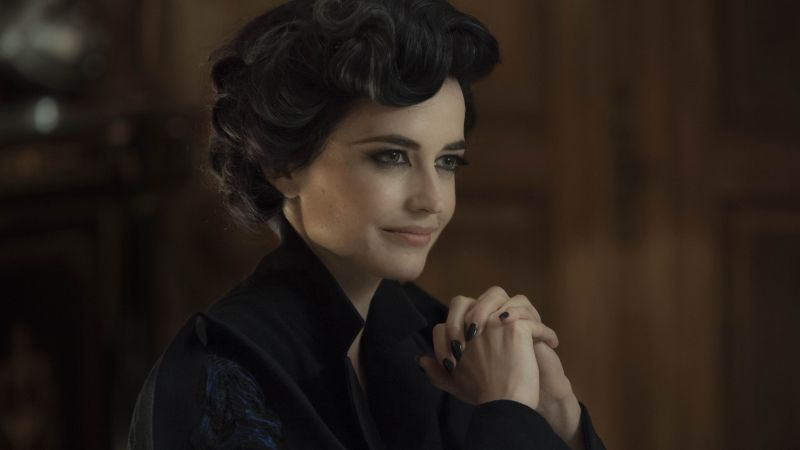 Eva Green, Eva Gaelle Green, Actress, model, red, dress, brunette, Penny Dreadful (horizontal)