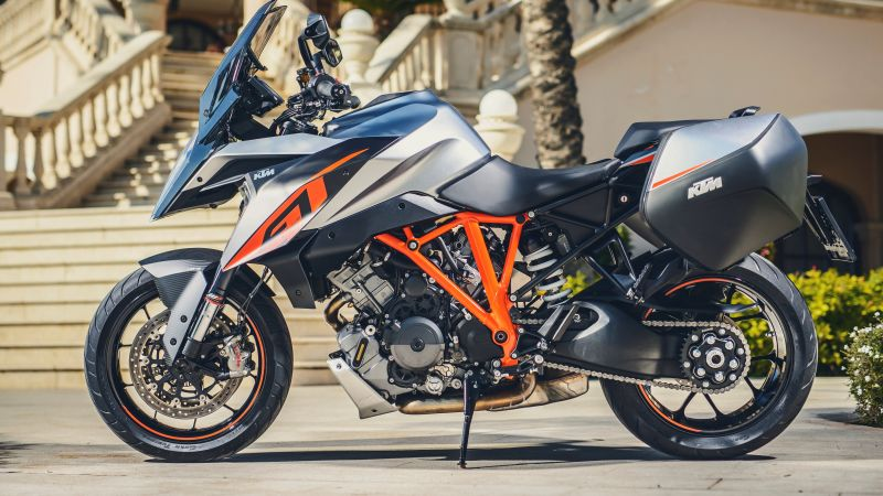 KTM 1290 Super Duke GT, turing, turing bike 2016, best bikes (horizontal)