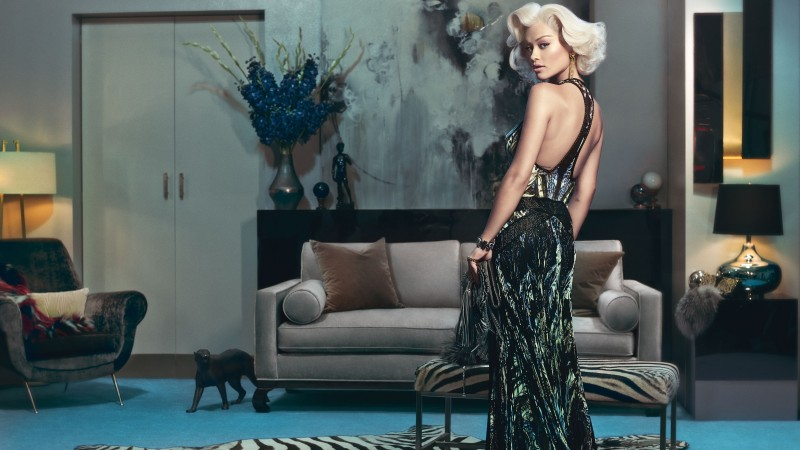 Rita Ora, Rita Sahatciu Ora, Actress, Artists, television star, dress, jewel, room, interior, blonde (horizontal)