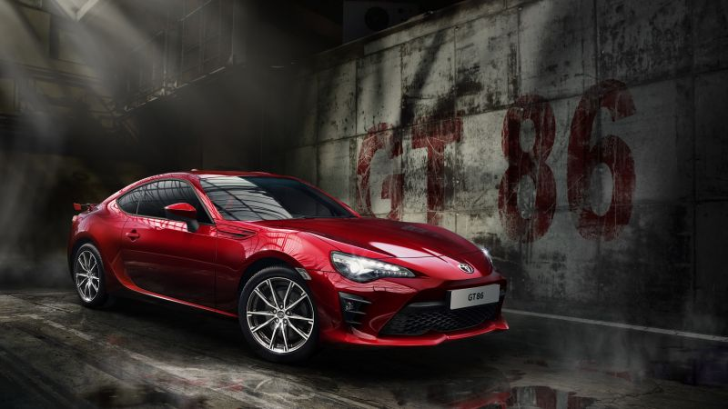 Toyota GT 86, sport cars, red, coupe (horizontal)