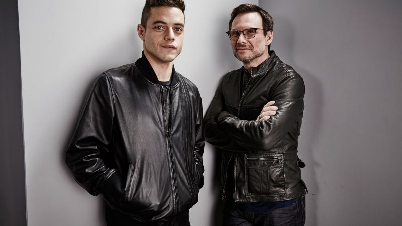 Mr. Robot 2 season, Emmy 2016, christian slater, elliot alderson, Rami Malek, best TV series (horizontal)