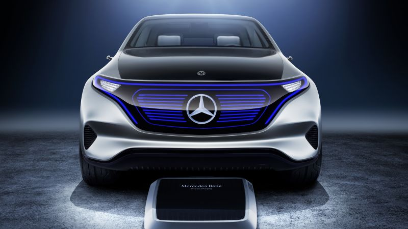 Mercedes Generation EQ, electric cars, paris auto show 2016, crossover (horizontal)