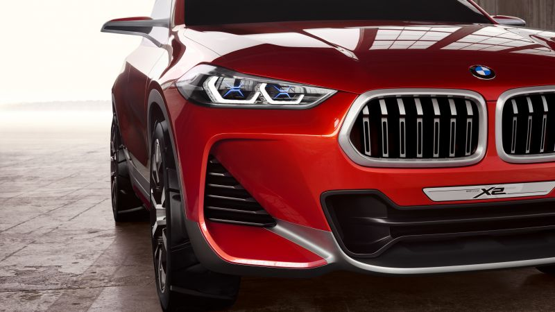 BMW X2, paris auto show 2016, crossover (horizontal)