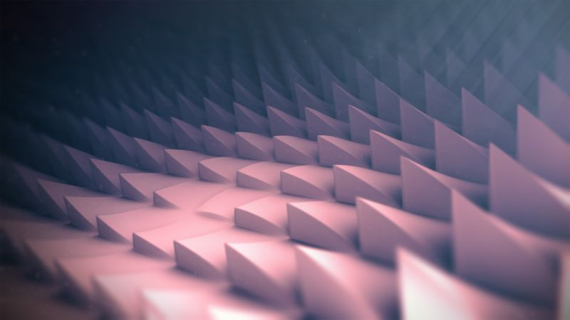 polygons, 3D, 4k, 5k, iphone wallpaper, android wallpaper, abstract, corners, low poly (horizontal)