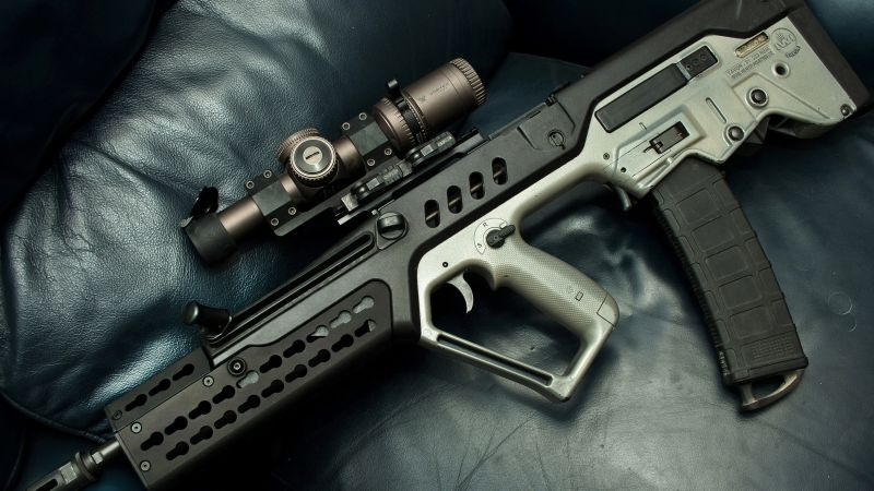 Tavor 21, assault rifle (horizontal)