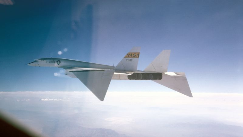 North American XB-70 Valkyrie, fighter aircraft, U.S. Air Force (horizontal)