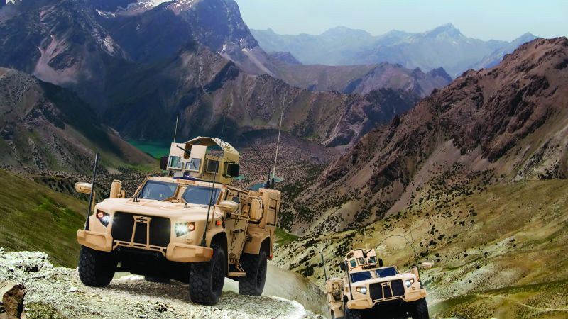 Lockheed Martin's JLTV, vehicle, U.S. Army (horizontal)