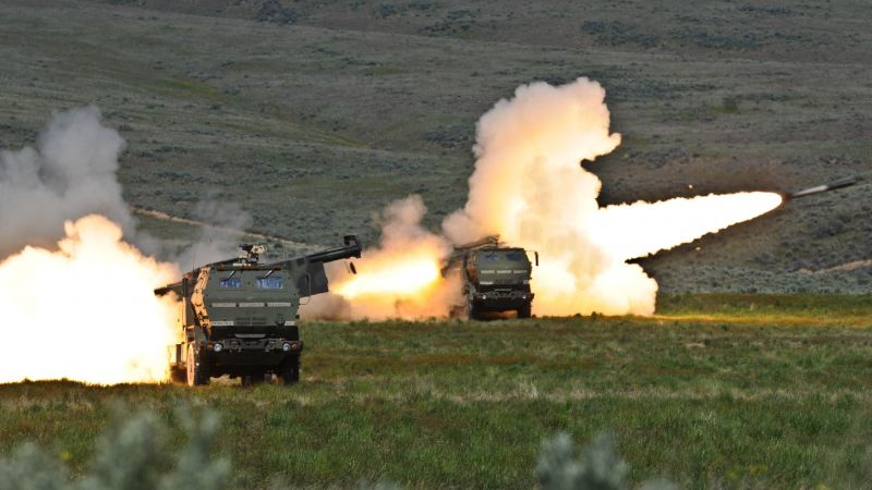 HIMARS, M142, vehicle, U.S. Army (horizontal)