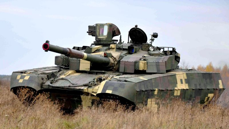 Oplot M, tank, Armed Forces of Ukraine (horizontal)