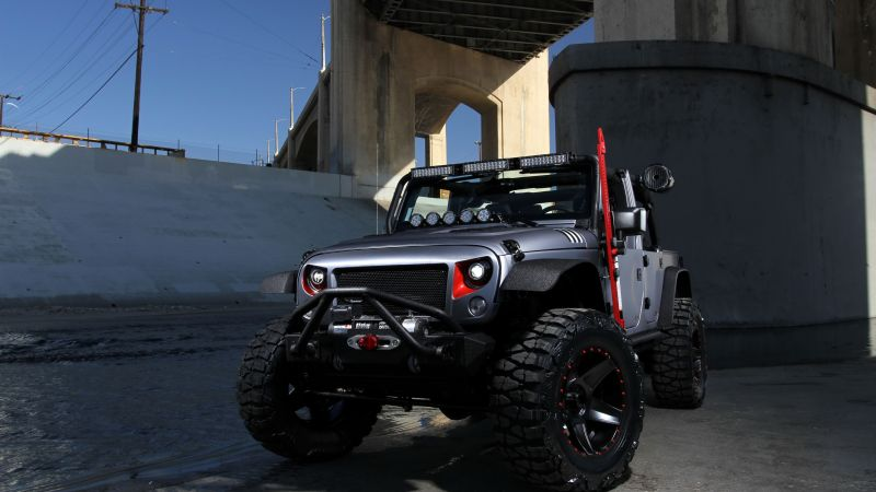 Wallpaper Jeep wrangler, SEMA 2016, Cars & Bikes #12433