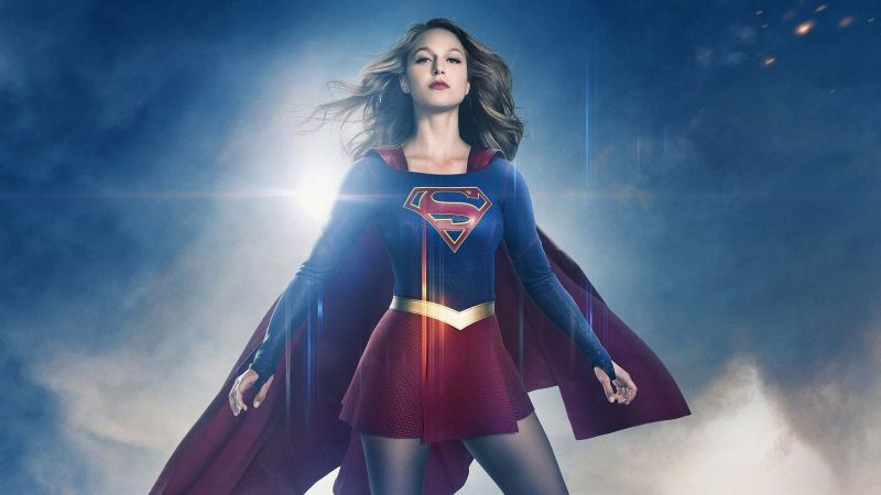 Supergirl, 2 season, Melissa Benoist, Best TV Series (horizontal)