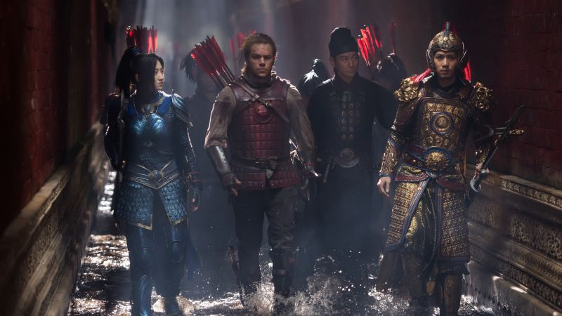 The Great Wall, Matt Damon, Jing Tian, best movies (horizontal)