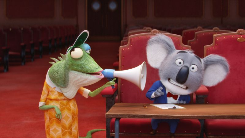 Sing, koala, buster, matthew mcconaughey, best animation movies of 2016 (horizontal)