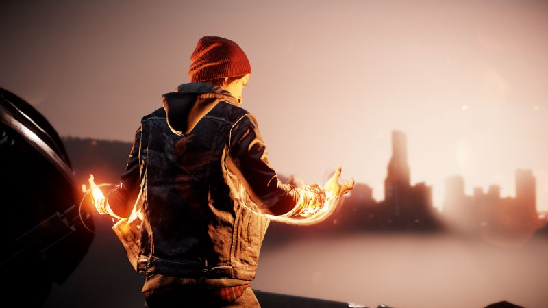 Infamous: Second Son, First Light, PS4 pro (horizontal)