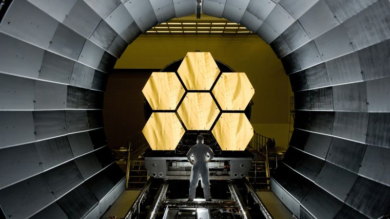 James Webb Space Telescope, space, NASA (horizontal)