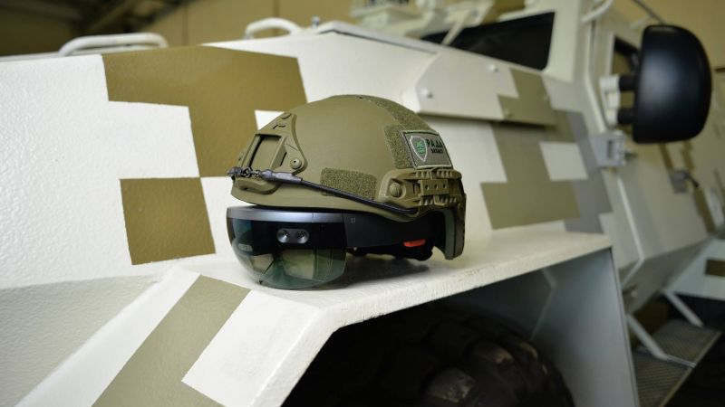 HoloLens, helmet, LimpidArmor, Armed Forces of Ukraine (horizontal)
