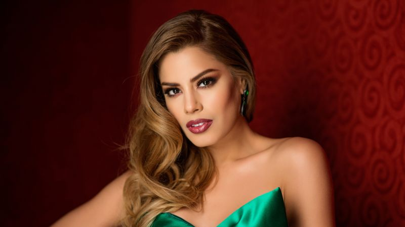 Ariadna Gutierrez, Most popular celebs, model, actress (horizontal)