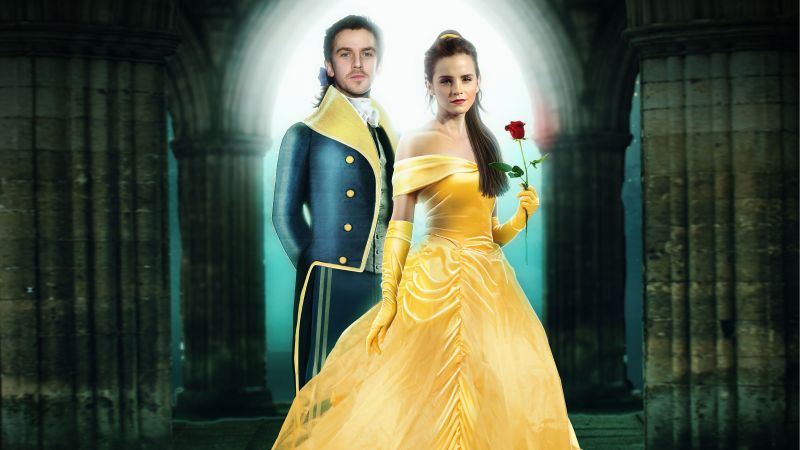 Beauty and the Beast, Emma Watson, Dan Stevens, best movies (horizontal)