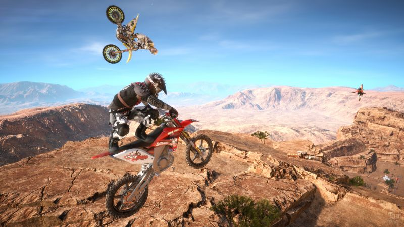 MX Nitro, Motocross, extreme, PC, Xbox one, PS4 (horizontal)