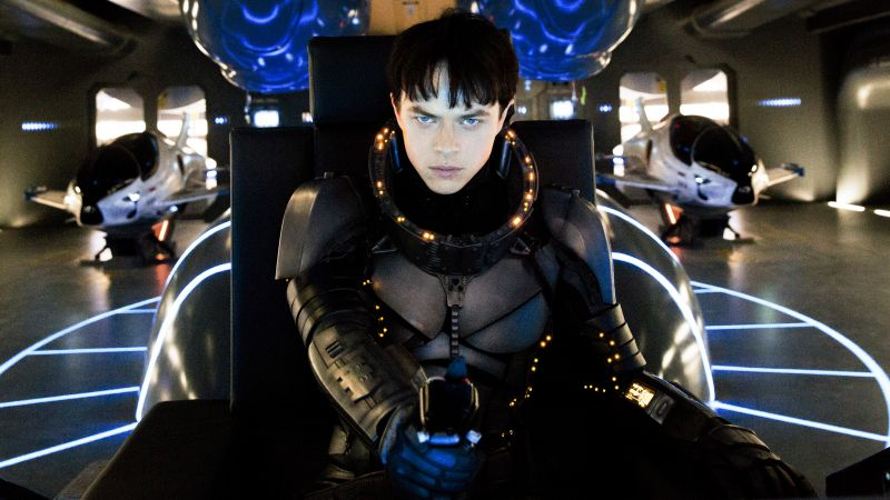 Valerian and the City of a Thousand Planets, Dane DeHaan, Luc Besson (horizontal)