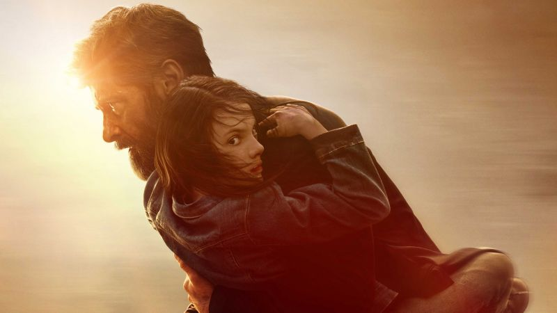 Logan, Hugh Jackman, Marvel (horizontal)