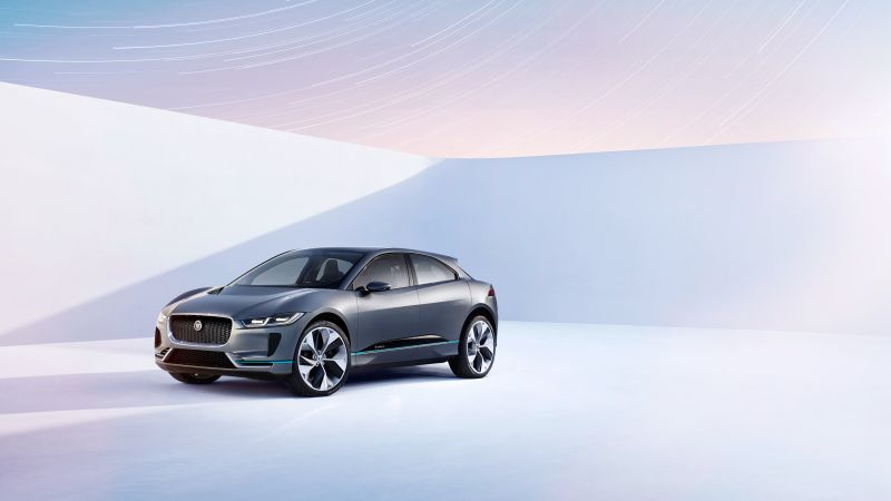 Jaguar I-pace, electric cars, suv, LA Auto Show 2016 (horizontal)